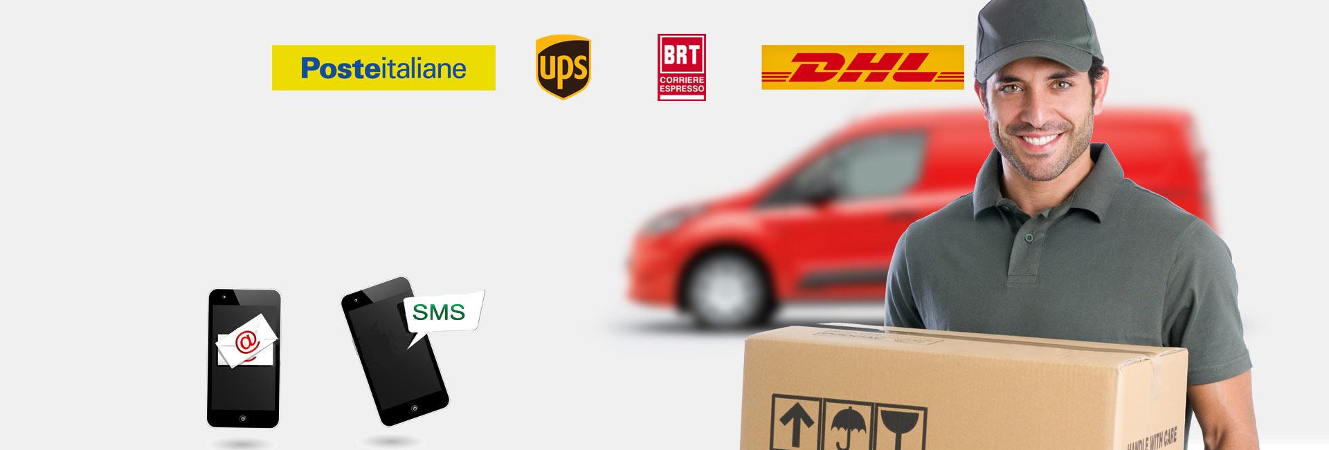 servizi postali e spedizone